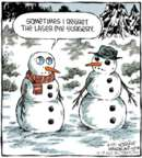 Cartoonist Dave Coverly  Speed Bump 2015-12-21 snowman