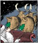 Cartoonist Dave Coverly  Speed Bump 2015-12-25 Christmas