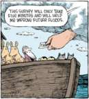 Cartoonist Dave Coverly  Speed Bump 2016-04-27 flood