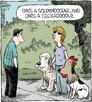 Cartoonist Dave Coverly  Speed Bump 2016-06-16 dog breed