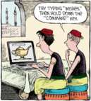 Cartoonist Dave Coverly  Speed Bump 2016-08-09 computer software