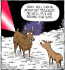 Cartoonist Dave Coverly  Speed Bump 2017-12-15 Christmas light