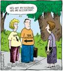 Cartoonist Dave Coverly  Speed Bump 2007-10-13 tax