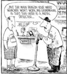 Cartoonist Dave Coverly  Speed Bump 2001-05-19 gardening equipment