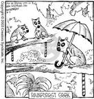 Cartoonist Dave Coverly  Speed Bump 2003-08-09 forest animal