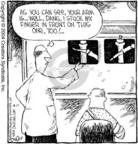 Cartoonist Dave Coverly  Speed Bump 2004-08-17 bone