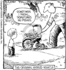 Cartoonist Dave Coverly  Speed Bump 2005-12-07 bicycle