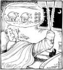 Cartoonist Dave Coverly  Speed Bump 2006-12-20 fence