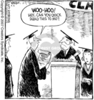 Cartoonist Dave Coverly  Speed Bump 2007-04-05 graduation