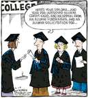 Cartoonist Dave Coverly  Speed Bump 2007-08-28 graduation