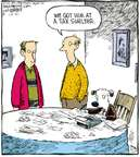 Cartoonist Dave Coverly  Speed Bump 2007-12-31 tax