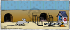 Cartoonist Dave Coverly  Speed Bump 2008-02-10 fence