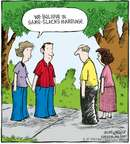 Cartoonist Dave Coverly  Speed Bump 2008-04-16 same-sex marriage