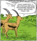 Cartoonist Dave Coverly  Speed Bump 2008-07-17 muscle