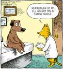 Cartoonist Dave Coverly  Speed Bump 2008-08-29 dog and cat