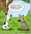 Cartoonist Dave Coverly  Speed Bump 2008-10-13 dog