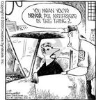 Cartoonist Dave Coverly  Speed Bump 2003-02-28 automobile repair shop