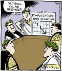 Cartoonist John Deering  Strange Brew 2013-05-28 Ancient Rome