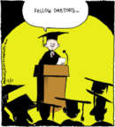 Cartoonist John Deering  Strange Brew 2013-12-17 education