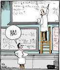 Cartoonist John Deering  Strange Brew 2014-12-04 math science