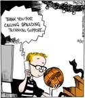 Cartoonist John Deering  Strange Brew 2014-12-27 basketball