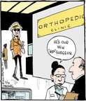 Cartoonist John Deering  Strange Brew 2015-03-16 orthopedic surgeon