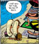 Cartoonist John Deering  Strange Brew 2016-07-26 hot dog