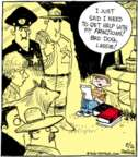 Cartoonist John Deering  Strange Brew 2016-08-26 bad dog
