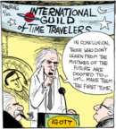 Cartoonist John Deering  Strange Brew 2017-02-22 travel