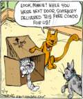 Cartoonist John Deering  Strange Brew 2017-07-07 cat