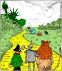 Cartoonist John Deering  Strange Brew 2017-11-27 Wizard of Oz