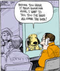 Cartoonist John Deering  Strange Brew 2018-01-20 dog