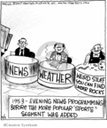 Cartoonist John Deering  Strange Brew 2007-09-05 weather