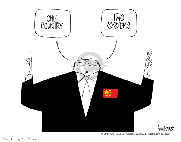 One country. Two systems.