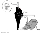 Cartoonist Ann Telnaes  Ann Telnaes' Editorial Cartoons 2003-01-15 ban