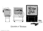 Cartoonist Ann Telnaes  Ann Telnaes' Editorial Cartoons 2003-03-31 television