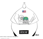 Cartoonist Ann Telnaes  Ann Telnaes' Editorial Cartoons 2003-04-21 day