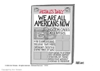 Cartoonist Ann Telnaes  Ann Telnaes' Editorial Cartoons 2004-07-30 social media politics