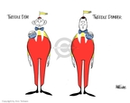 Cartoonist Ann Telnaes  Ann Telnaes' Editorial Cartoons 2006-08-25 2000 election