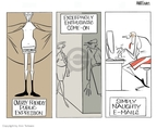 Cartoonist Ann Telnaes  Ann Telnaes' Editorial Cartoons 2006-10-05 Ann