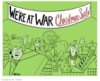 Cartoonist Ann Telnaes  Ann Telnaes' Editorial Cartoons 2006-12-20 Christmas