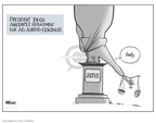 Cartoonist Ann Telnaes  Ann Telnaes' Editorial Cartoons 2007-09-17 Michael