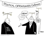 Cartoonist Ann Telnaes  Ann Telnaes' Editorial Cartoons 2008-02-17 John McCain