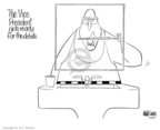 Cartoonist Ann Telnaes  Ann Telnaes' Editorial Cartoons 2004-10-04 presidential election