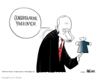 Cartoonist Ann Telnaes  Ann Telnaes' Editorial Cartoons 2004-11-26 Ukraine