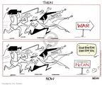 Cartoonist Ann Telnaes  Ann Telnaes' Editorial Cartoons 2008-02-06 John McCain