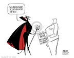 Cartoonist Ann Telnaes  Ann Telnaes' Editorial Cartoons 2006-02-24 ban