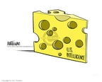 Cartoonist Ann Telnaes  Ann Telnaes' Editorial Cartoons 2001-09-12 cheese