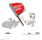 Cartoonist Ann Telnaes  Ann Telnaes' Editorial Cartoons 2001-05-30 partisan