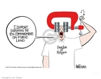 Cartoonist Ann Telnaes  Ann Telnaes' Editorial Cartoons 2001-06-05 freedom of religion